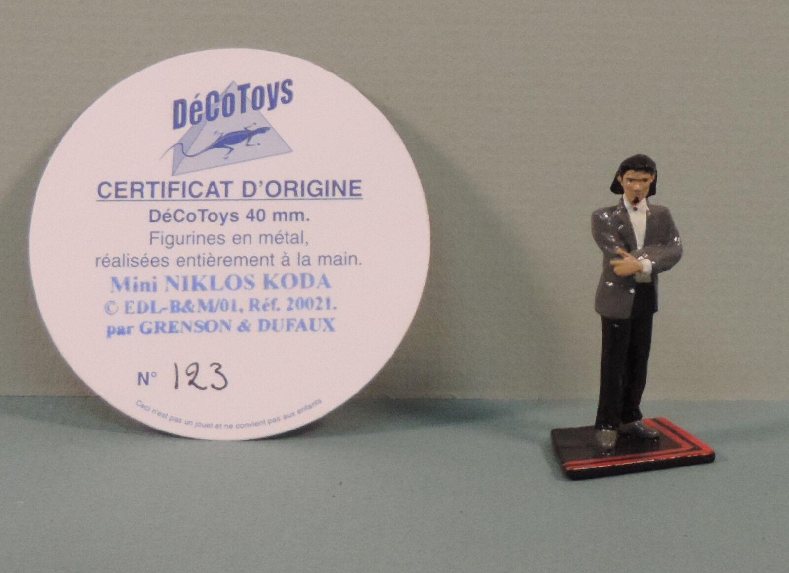 Niklos Koda mini statuette metal DecoSpielzeugs 20021 numerote