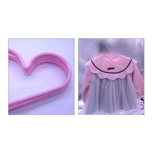 Lot De 5 Cintres Enfants Bébé Forme de Nuages Mignon Cintre Vêtement