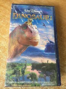 Vhs dinosauri di walt disney cartoni animati ebay