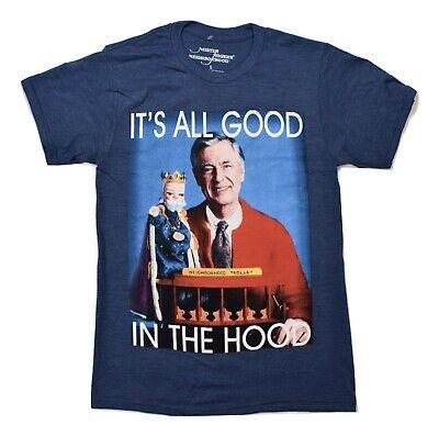 Mr Rogers Neighborhood Classic Portrait Retro TV Show Graphic Mens T Shirt XS-3X