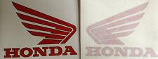 "HONDA NC30 VFR400R RED TANK ""WINGS"" X 2"