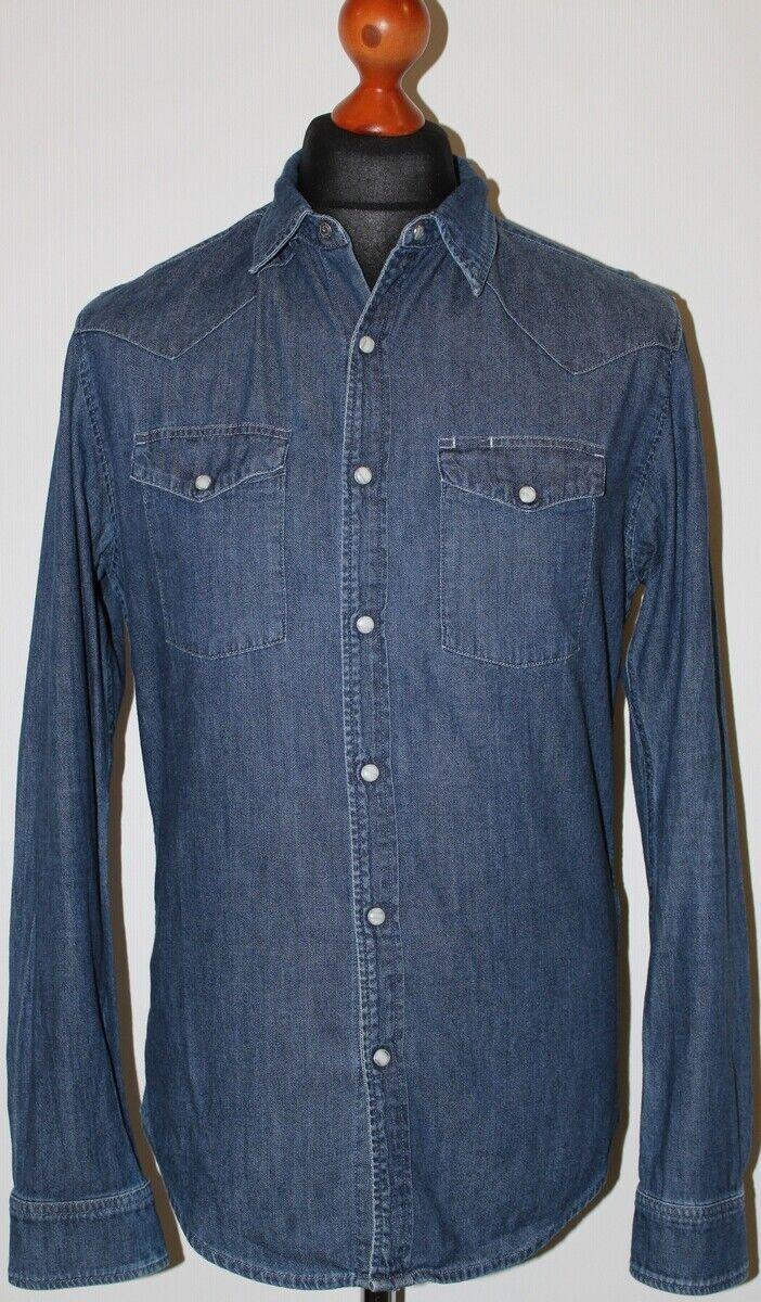Edwin Men's Memphis Long Sleeve Shirt Size M