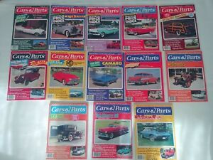 Car-And-Parts-Magazine-Lot-Of-13-From-039-80s