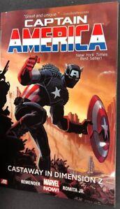 CAPTAIN-AMERICA-Castaway-in-Dimension-Z-2014-Marvel-Comics-TPB-1st