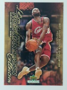 2003-04-Upper-Deck-Freshman-Season-Collection-Lebron-James-Rookie-RC-54-CAVS