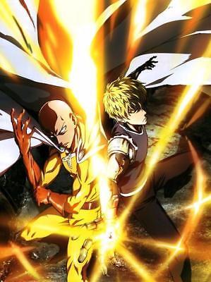 "One Punch Man Anime Huge Poster 13x20/"" 20x30/"" 24x36/"" Art Silk Print #1"
