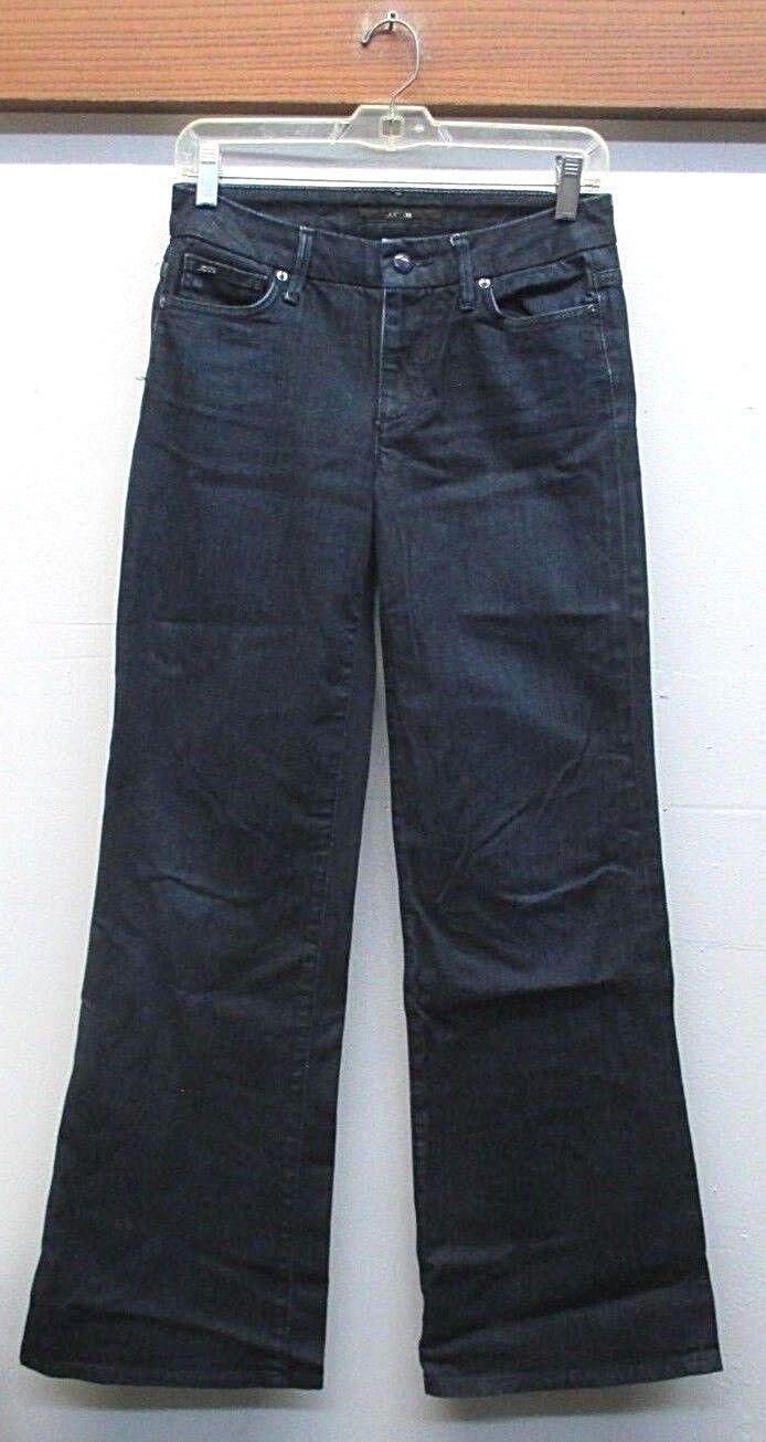 EUC   Women's Joe's Wide Leg Muse bluee Jeans Wash white Style CHB5868 Size 27