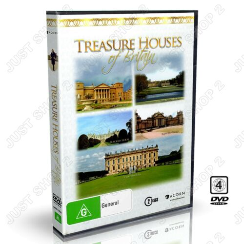 1 of 1 - Treasure Houses Of Britain 2-Disc Set : Finest Stately Homes : New DVD