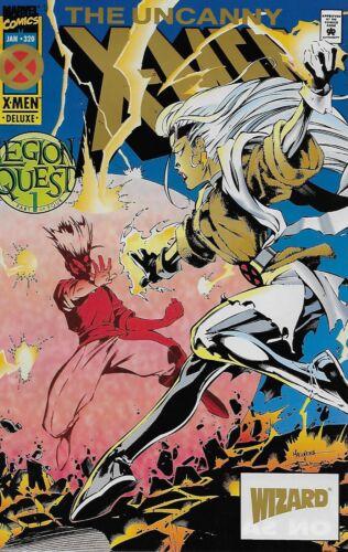 Wizard Gold Logo Variant Cover Vol.1 The Uncanny X-Men No.320 1995 Legion