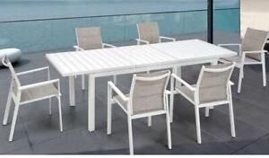 Tavoli E Sedie In Ferro Per Giardino.Tavolo E Sedie Alluminio Ferro Per Esterno Giardino