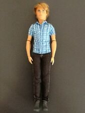 "BARBIE KEN 12"" TALKING DOLL Fully Jointed MATTEL 2012 VTG Life in the Dreamhouse"
