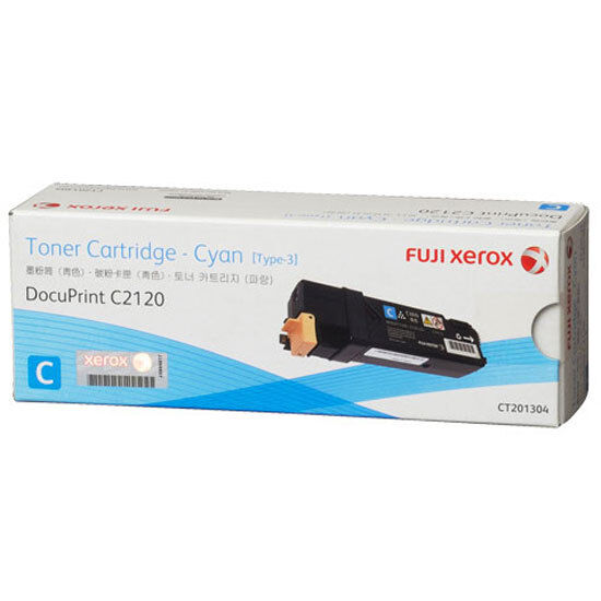 Xerox Genuine CT201304 CYAN Toner For Docuprint C2120 - 3,000 Pages