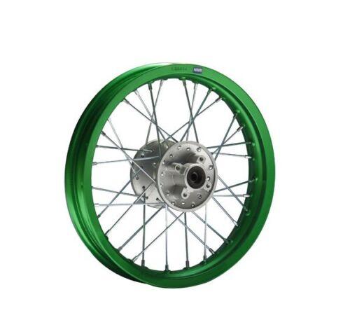 Alu-Felge Eloxiert 14 hinten Grün HMParts Pit Bike Dirt Bike Cross