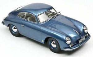 PORSCHE 356 - 1954 - bluemetallic - Norev 1:18
