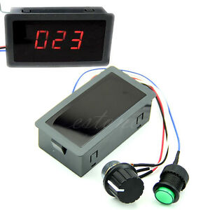 Motor-PWM-Speed-Controller-DC-6-30V-12V-24V-Max-8A-With-Digital-Display-amp-Switch