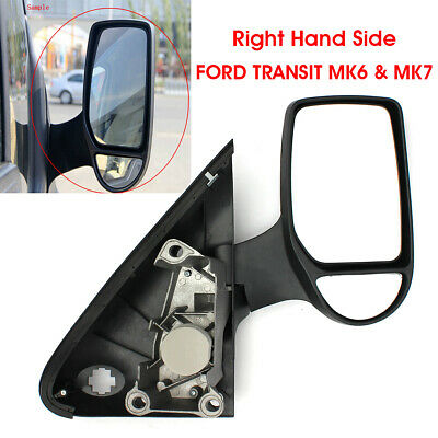 *FORD TRANSIT MK6 /& MK7 WING MIRROR RIGHT HAND DRIVER OFF SIDE LONG ARM TRA007