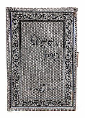 Cover Case For Kobo TOUCH In Tough Canvas 'Old Book' Effect With Story Pattern