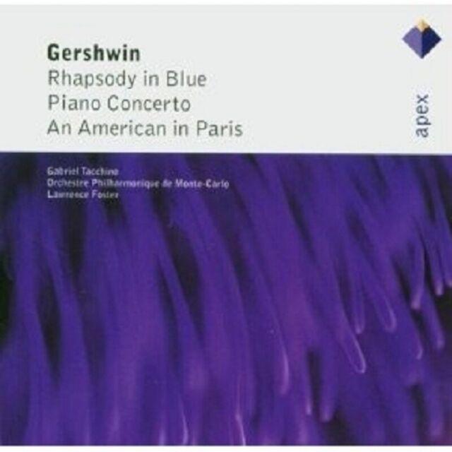 FOSTER/OMC TACCHINO-RHAPSODIE IN BLUE/CONCERT ...CD NEU