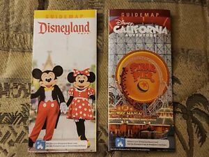 Details about Disneyland / DCA California Adventure - Nov 1st-8th 2018  guide maps - 8 days