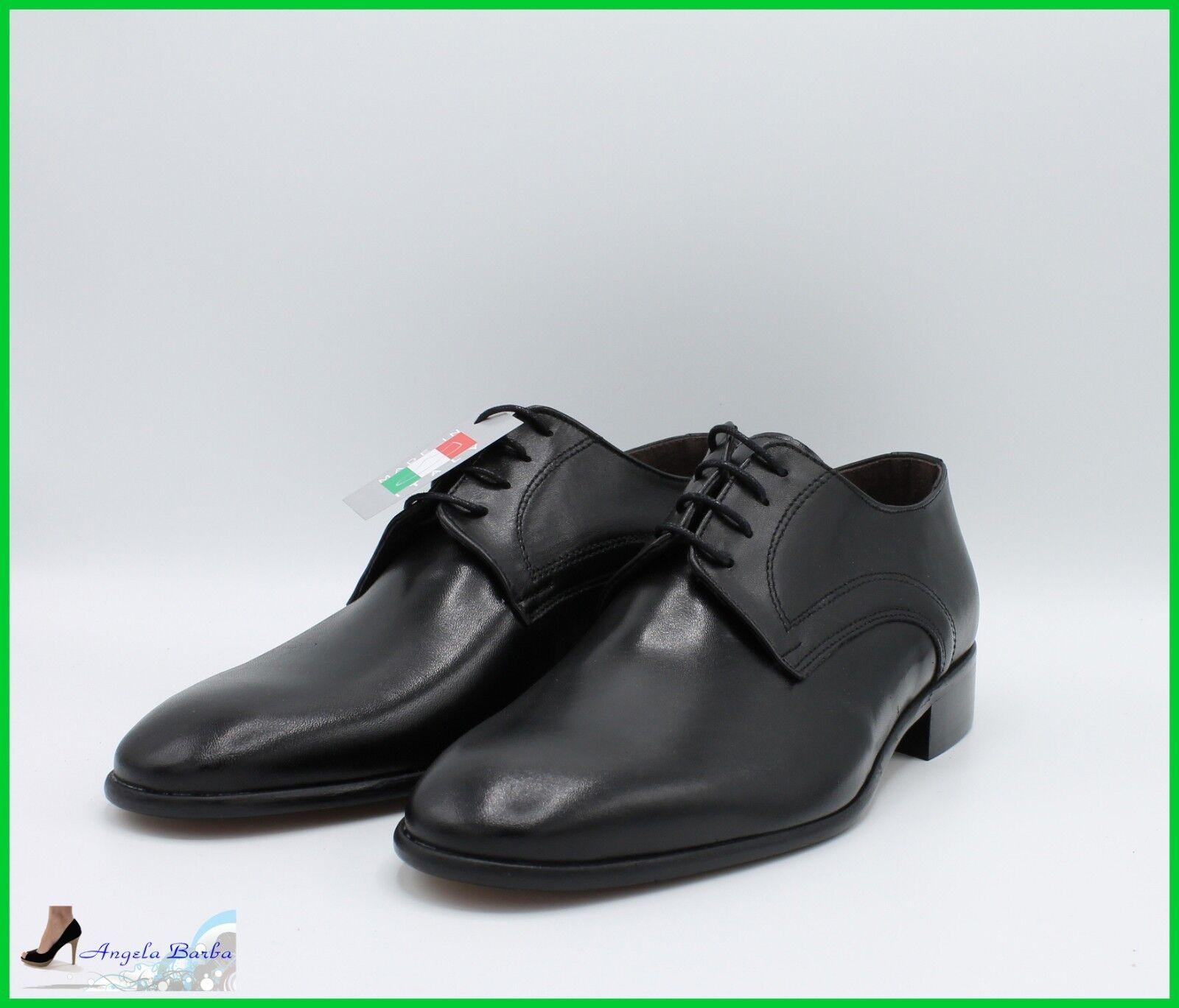 Zapatos de hombre Clásico de piel Made in  Elegante a Ceremonia