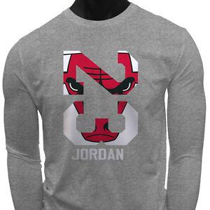 Chicago Bulls Mens Sleeve Long Details Jordan Legend About Michael Shirt Gray T Air 23 k0XOP8nw