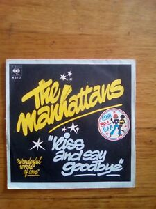 45T-vintage-the-manhattans-kiss-and-say-goodbie-CBS-4317-1976