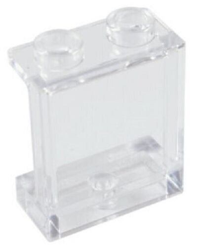 ☀LEGO New 25x Trans-Clear Transparent Wall Elements 1x2x2 Clear White Window lot