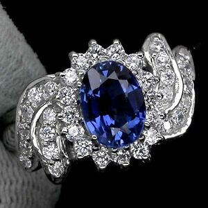 LDN-Bague-Saphirs-Kashmir-Cachemire-bleu-Argent-925-T56-57