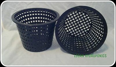 Basket Mesh  Net Plant Pots 140 mm - Pack of 10 - Hydroponics, Orchids & more