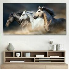 Horse Painting Wall Art Picture Home Decoration Living Room Printed Canvas ho121