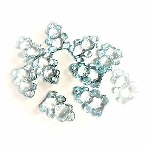 baby shower 50 x Clair Bleu Royal mannequin Charms//mannequin Pendentifs 31 mm Gumball