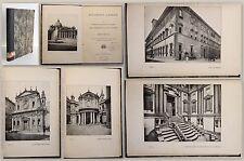 Wölfflin Renaissance und Barock 1907 Geschichte Architektur Baustil Italien xy