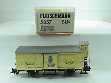 """Fleischmann H0 5357BLN Güterwagen """"150 Jahre Berlin/Potsdam"""" K.P.E.V.OVP (D1235)"""