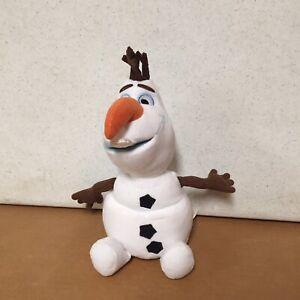 OLAF-Plush-10-Snowman-2001-Disney-Frozen-Toy-Doll-Stuffed-Animal-EUC-AR55