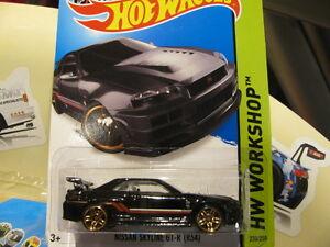 Hot Wheels Nissan Skyline Gtr R34 Black Hotwheels Ebay