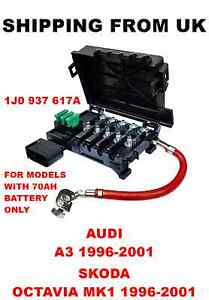 fuse box battery terminal audi a3 skoda octavia mk1. Black Bedroom Furniture Sets. Home Design Ideas