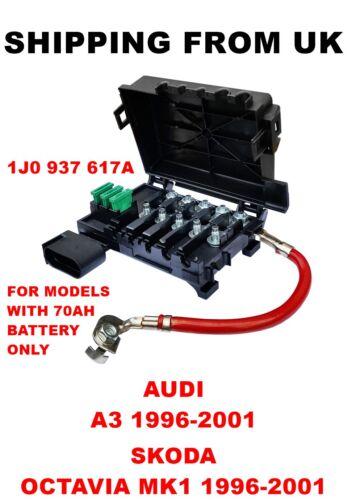 FUSE BOX BATTERY TERMINAL   AUDI A3   SKODA OCTAVIA MK1   1J0937617A