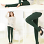 thumbnail 20 - Autumn-winter-fashion-brushed-leggings-multicolor-brushed-pants-warm-seamless