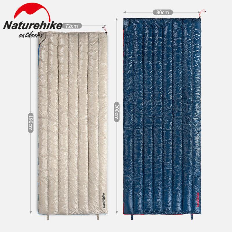 Naturehike Busta Oca Down Sleeping Borsa Outdoor Ultralight 400T Nylon