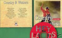 Various Artists - CD - Country & Western - Vol. 3 - CD von 1995 - Neuwertig !
