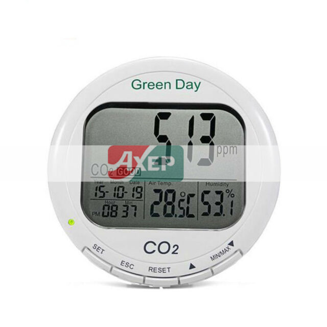 A● AZ-7788 CO2 test meter Desktop carbon dioxide Datalogger CO2 Gas Detector