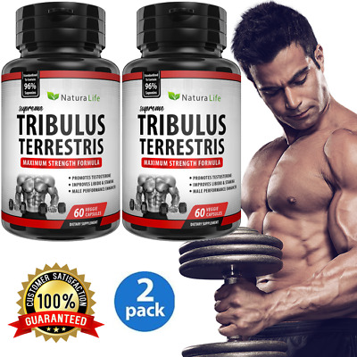 2 #1 Workout Testosterone Build Muscle Male Enhancement