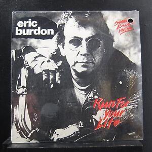 Eric Burdon Run For Your Life Lp New Sealed Sh 1215