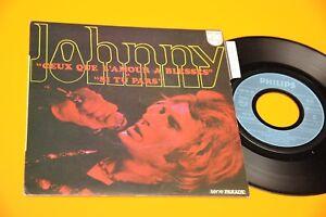 JOHNNY-HALLYDAY-7-034-CEUX-QUE-L-039-AMOUR-A-BLESSES-ORIG-1970-MINT-CON-LANGUETTE