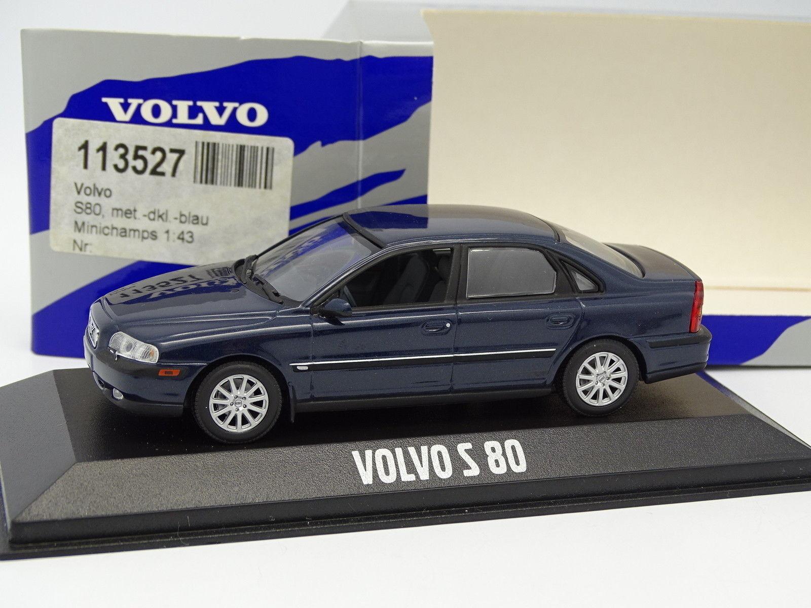 mejor precio Minichamps 1 43 43 43 Volvo - S80 Azul  Hay más marcas de productos de alta calidad.