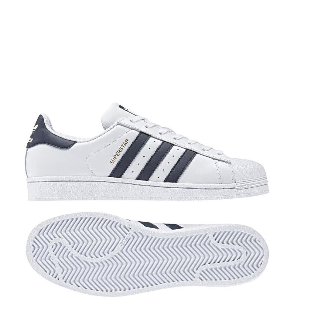zapatos adidas originals cm8082 unisex zapatilla de deporte súperEstrella _ blancoo azul