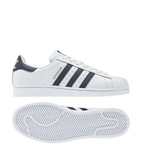 SCARPE-ADIDAS-originals-CM8082-Superstar-Unisex-sneakers-ORIGINALI-BIANCO-BLU