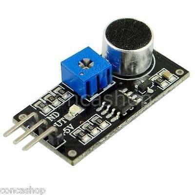 Micrófono de sonido con módulo de detección del sensor hacer ao Para Arduino Uno R3 Avr 5 un.