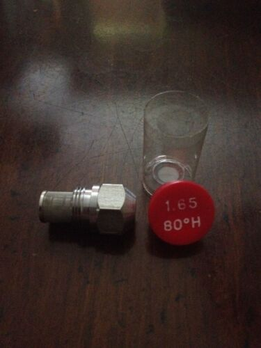Nozzle for oil burner 1.65 80 degrees H