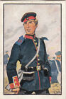 Prussia Infantry Fusilier 1870 Deutsches Heer Germany Uniform IMAGE CARD 30s